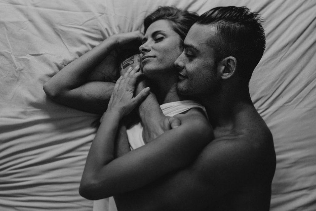 sesión intima de pareja