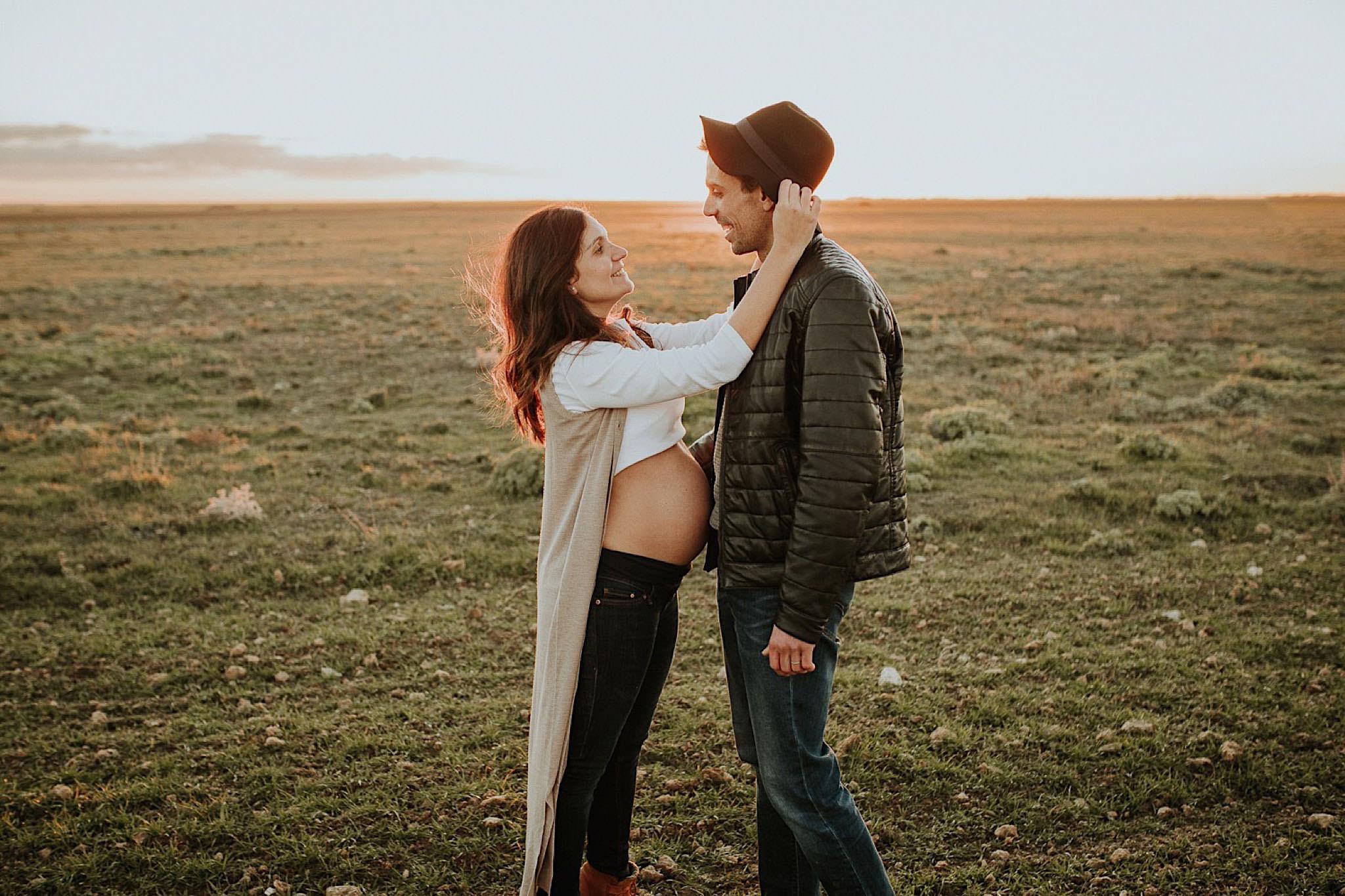 reportaje de fotos embarazo