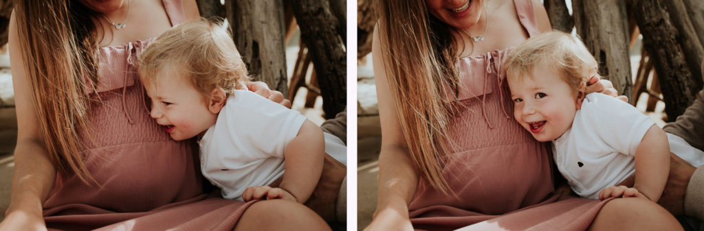 Reportaje de embarazo en la Playa