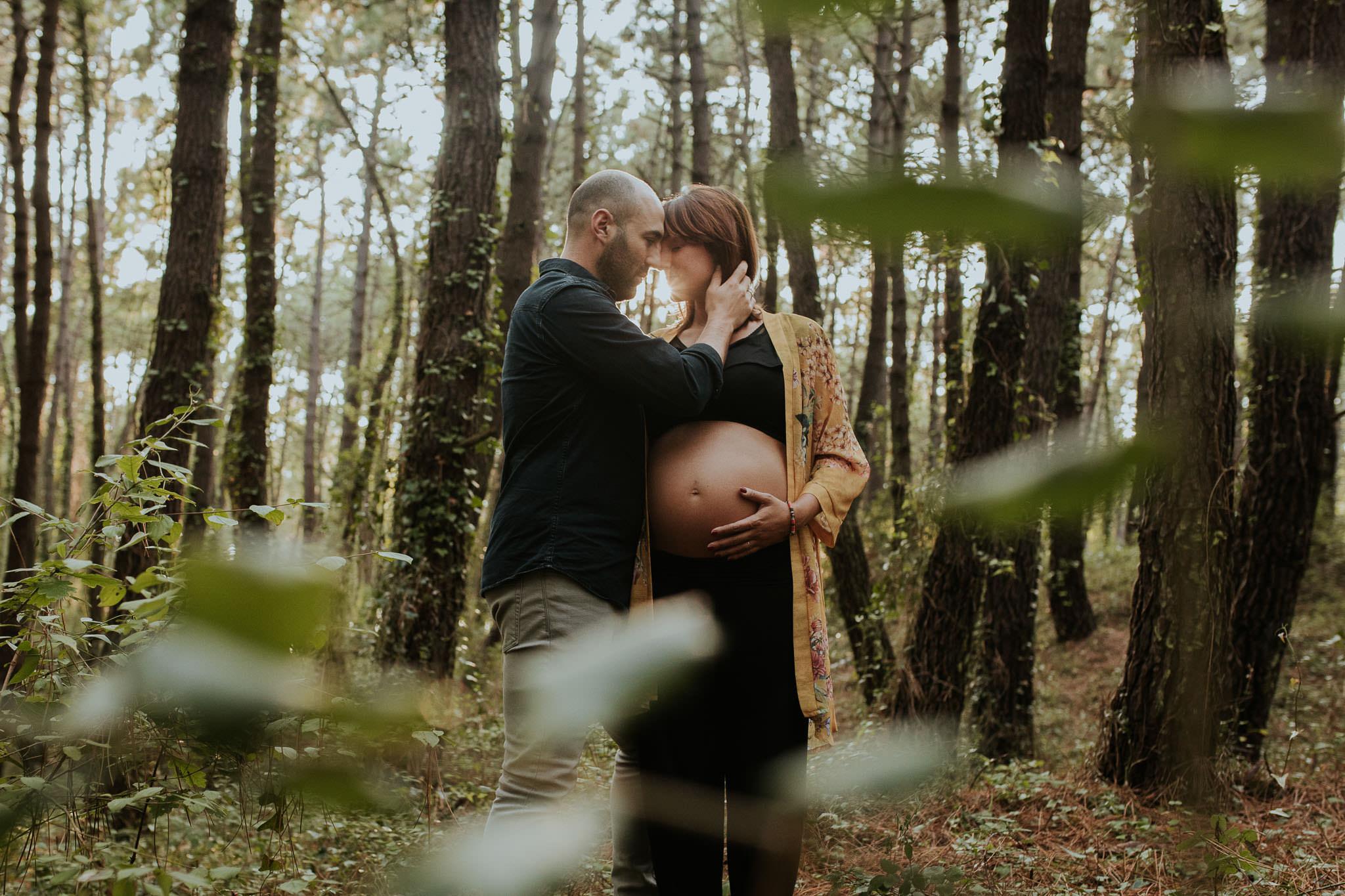 fotografia embarazo en cantabria