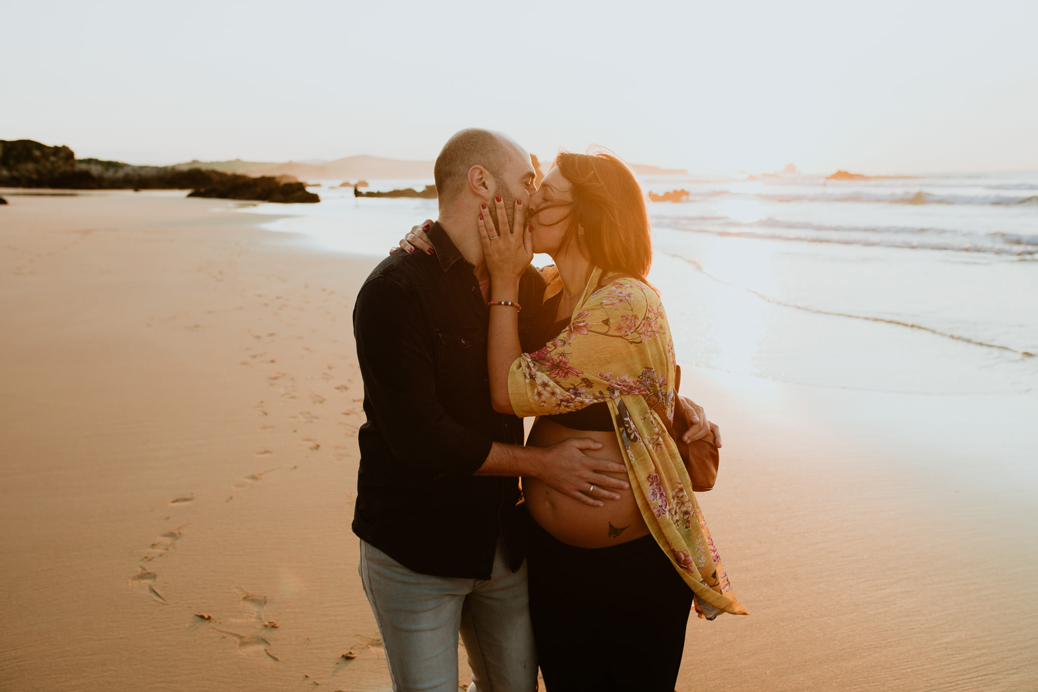 fotografia embarazo en valladolid