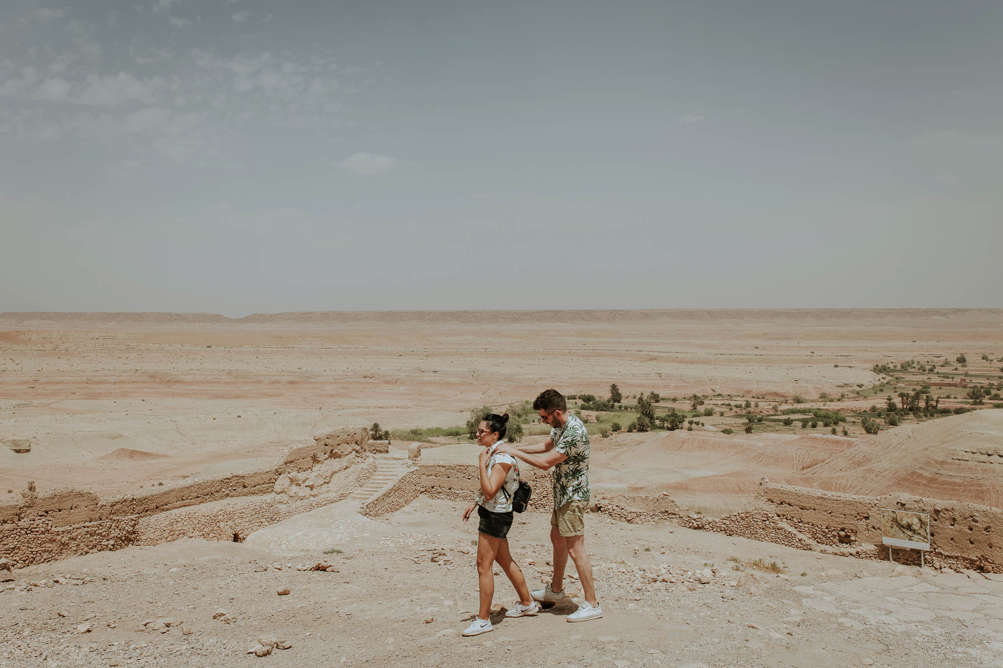 engagement session in marrakech