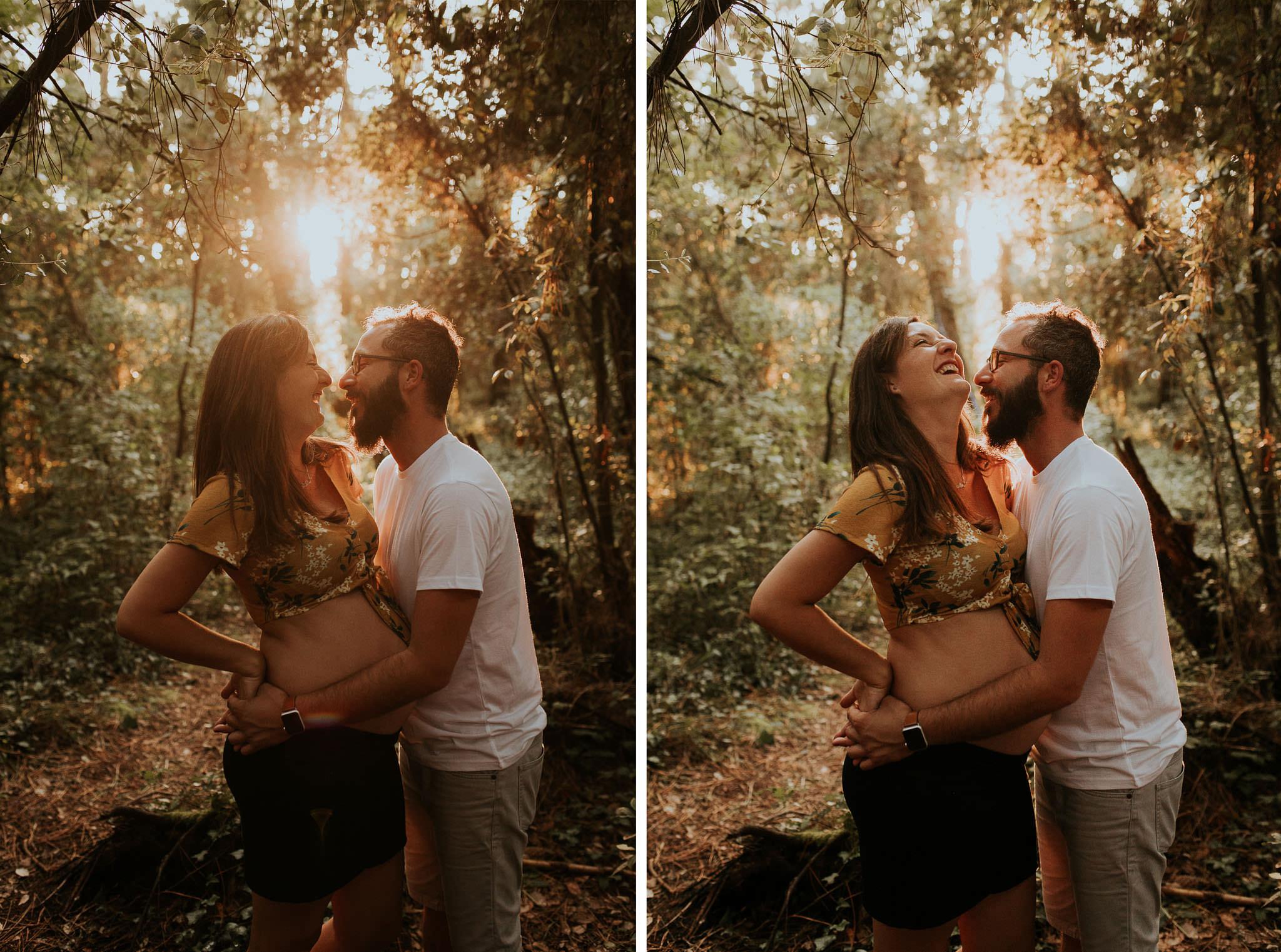 Sesion embarazo en Cantabria